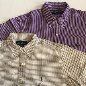 2 RALPH LAUREN Shirts